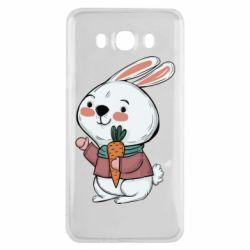 Чохол для Samsung J7 2016 Winter bunny