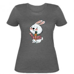 Жіноча футболка Winter bunny