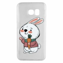 Чохол для Samsung S6 EDGE Winter bunny