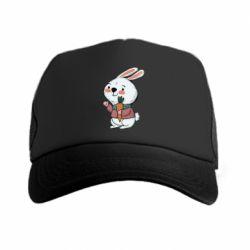 Кепка-тракер Winter bunny