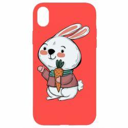 Чохол для iPhone XR Winter bunny