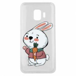 Чохол для Samsung J2 Core Winter bunny