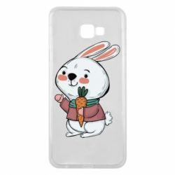 Чохол для Samsung J4 Plus 2018 Winter bunny