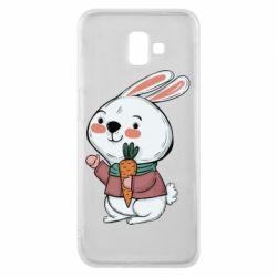 Чохол для Samsung J6 Plus 2018 Winter bunny