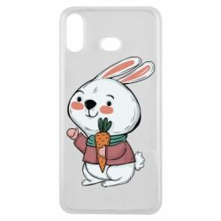 Чохол для Samsung A6s Winter bunny
