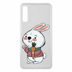 Чохол для Samsung A7 2018 Winter bunny