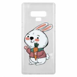Чохол для Samsung Note 9 Winter bunny