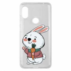 Чехол для Xiaomi Redmi Note 6 Pro Winter bunny