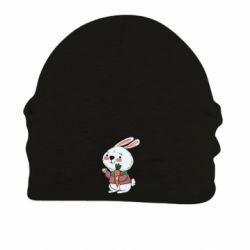 Шапка на флісі Winter bunny