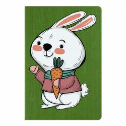 Блокнот А5 Winter bunny