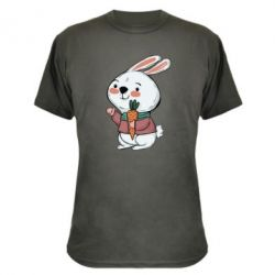 Камуфляжна футболка Winter bunny