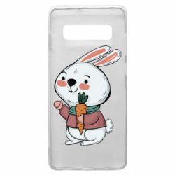 Чохол для Samsung S10+ Winter bunny