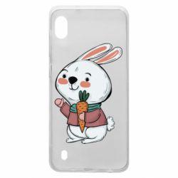 Чохол для Samsung A10 Winter bunny