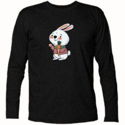 Футболка з довгим рукавом Winter bunny