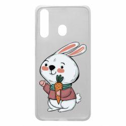 Чохол для Samsung A60 Winter bunny