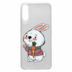 Чохол для Samsung A70 Winter bunny