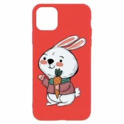 Чохол для iPhone 11 Winter bunny