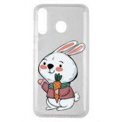 Чохол для Samsung M30 Winter bunny