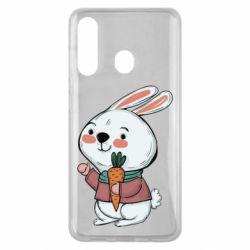 Чохол для Samsung M40 Winter bunny