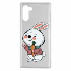 Чохол для Samsung Note 10 Winter bunny