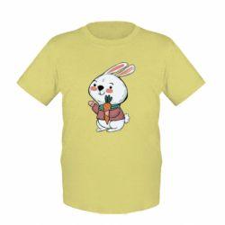 Дитяча футболка Winter bunny