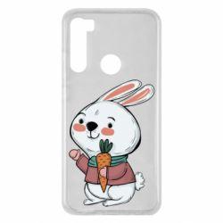 Чехол для Xiaomi Redmi Note 8 Winter bunny