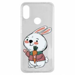 Чехол для Xiaomi Redmi Note 7 Winter bunny
