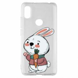 Чехол для Xiaomi Redmi S2 Winter bunny