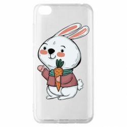 Чехол для Xiaomi Redmi Go Winter bunny