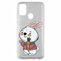 Чохол для Samsung M30s Winter bunny
