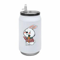 Термобанка 350ml Winter bunny