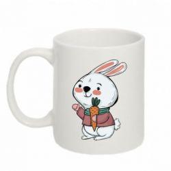 Кружка 320ml Winter bunny