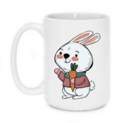 Кружка 420ml Winter bunny