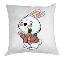 Подушка Winter bunny