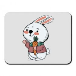 Килимок для миші Winter bunny
