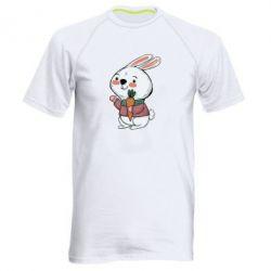 Чоловіча спортивна футболка Winter bunny