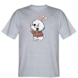 Чоловіча футболка Winter bunny