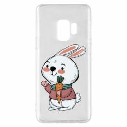 Чохол для Samsung S9 Winter bunny