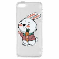 Чохол для iphone 5/5S/SE Winter bunny