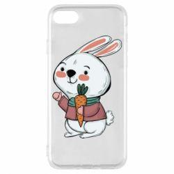 Чохол для iPhone 8 Winter bunny