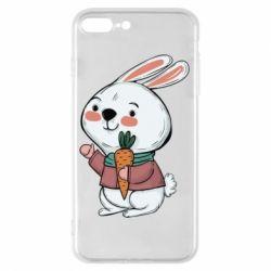 Чохол для iPhone 8 Plus Winter bunny
