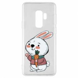 Чохол для Samsung S9+ Winter bunny