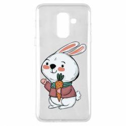 Чохол для Samsung A6+ 2018 Winter bunny
