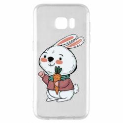 Чохол для Samsung S7 EDGE Winter bunny