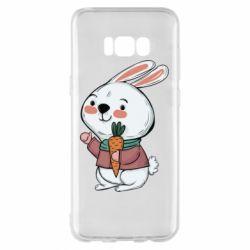 Чохол для Samsung S8+ Winter bunny