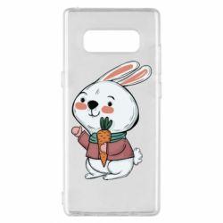 Чохол для Samsung Note 8 Winter bunny