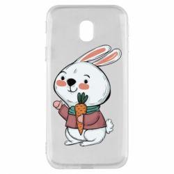 Чохол для Samsung J3 2017 Winter bunny