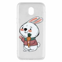 Чохол для Samsung J5 2017 Winter bunny