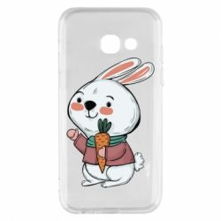 Чохол для Samsung A3 2017 Winter bunny