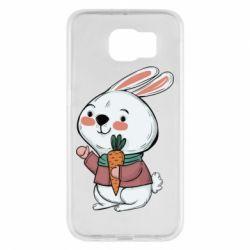 Чохол для Samsung S6 Winter bunny
